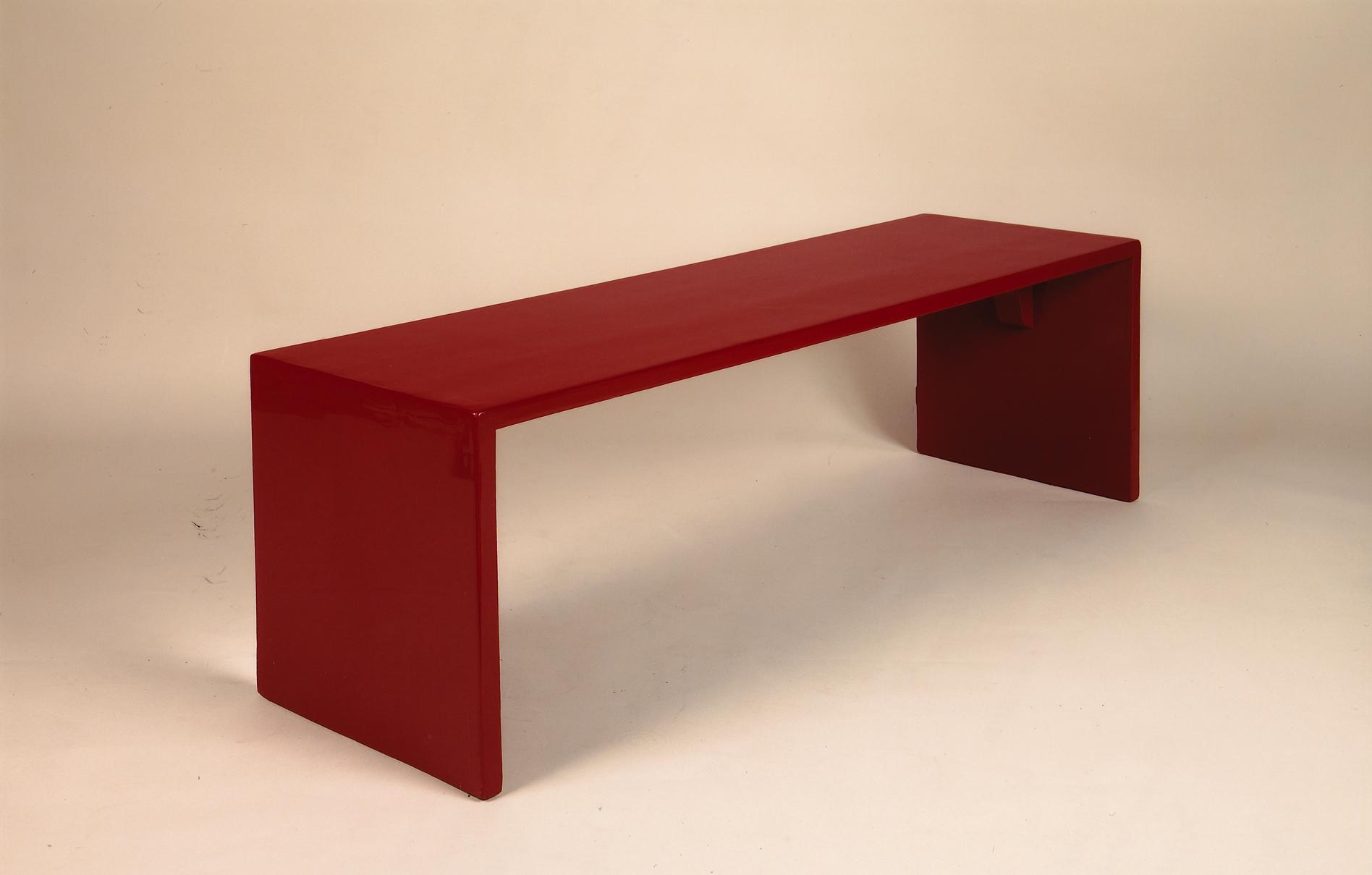 Table basse laquée - Eyre de Lanux