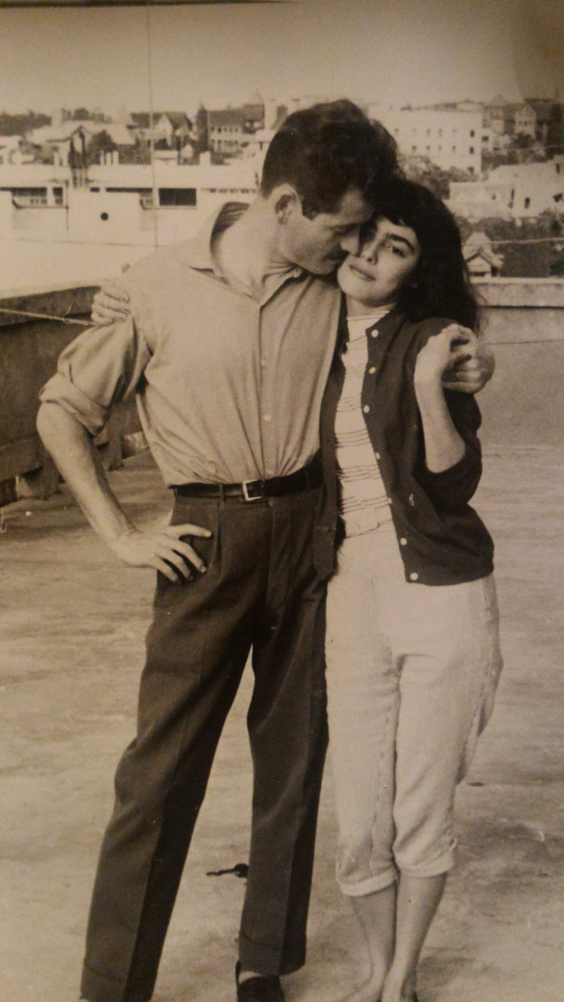 Christian David et Leila Desricourt de Lanux