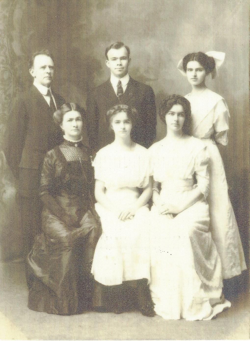 Famille Albert Léon Auguste de Lanux (Hawaii, USA)