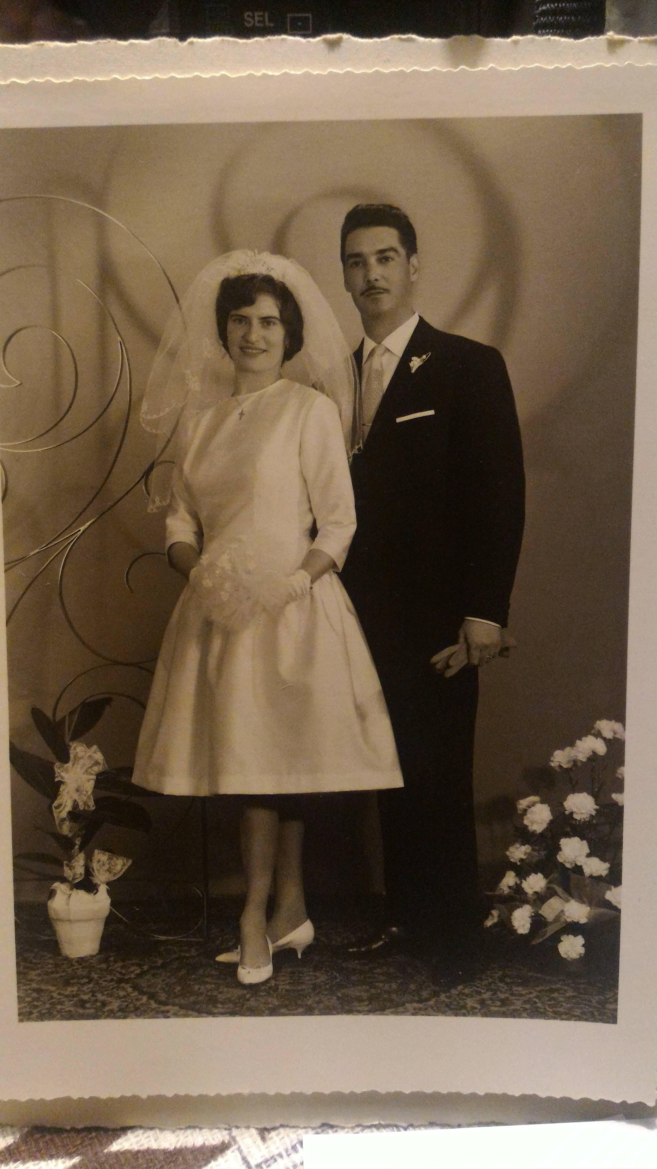 Mariage de Charles Desricourt de Lanux (Charly) et Arlette