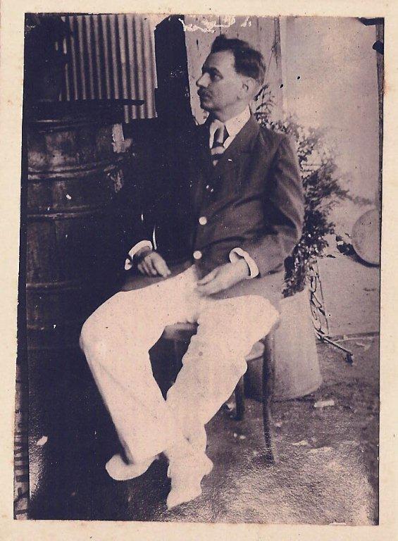 Marie Thomy de Lanux (notre arrière grand-père)
