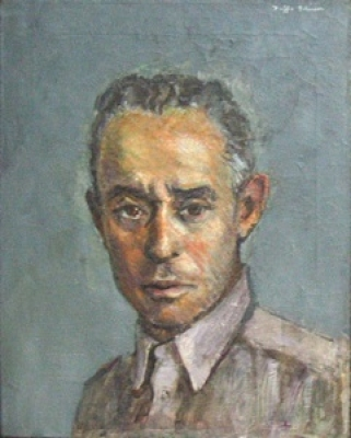 Pierre de Lanux peint par Buffie Jonhson (1944)