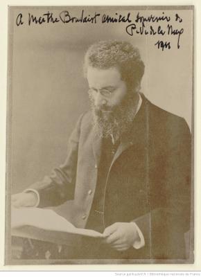 Paul Véronge de Lanux en 1911
