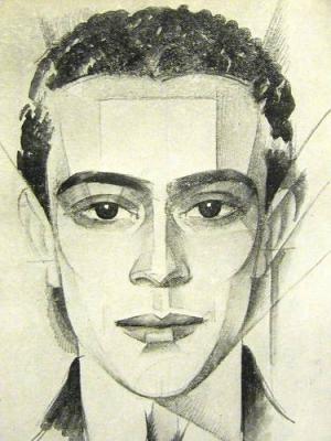 Pierre de Lanux par Pierre Thevenaz (1922)