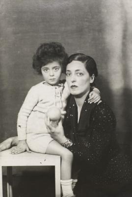 Elisabeth Eyre de Lanux et Anne Françoise de Lanux dite Bikou.