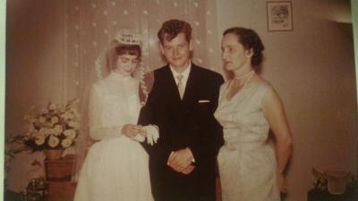 Mariage de Leila Desricourt de Lanux et Christian David et notre grand-mère